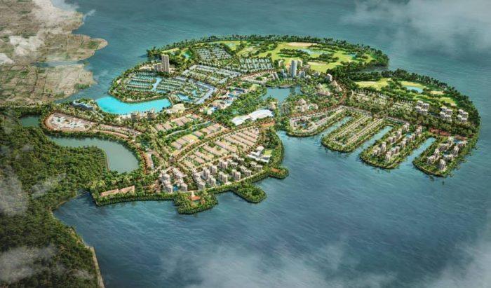 Phối cảnh Khu du lịch Quốc tế Đồi Rồng - Dragon Ocean Đồ Sơn mới nhất năm 2021
